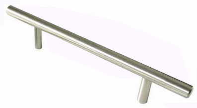 Update your kitchen cabinets or bathroom vanities with these beautiful solid stainless steel bar pulls. The stainless steel material makes these pulls very sturdy for years of use, while the satin nickel finish and standard shape are great for any color cabinet, including neutrals and even unfinished wood. The large quantity is perfect for commercial building contractors who install lots of cabinets or drawers at once. Replace worn-out hardware with these attractive bar pulls from Hardware Supply Source. Each piece is packaged individually for shipment to protect its finish. The screws you need are included, so you can start installing the pulls as soon as they arrive. Each pull is individually bagged to prevent damage to the finish and two standard size installation screws are included