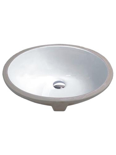 White Ceramic Bathroom Vanity Oval Undermount Sink Hardware Supply Source