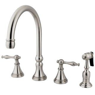 Satin Nickel European Style 4 Piece Kitchen Faucet Hardware Supply Source