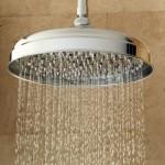 Polished Chrome Rain Shower Head/Bath Tub Set